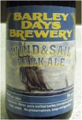 Barley Days Wind & Sail Dark Ale