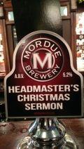 Mordue Headmasters Christmas Sermon
