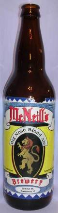 McNeill's Big Nose Blonde Ale