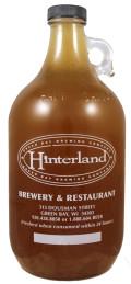 Hinterland Bourbon Barrel Imperial IPA