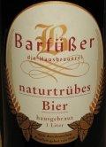 Barfüßer Brauhaus Naturtrübes Bier Hell