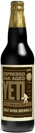Great Divide Yeti Imperial Stout - Espresso Oak Aged
