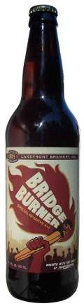 Lakefront Bridge Burner Strong Ale