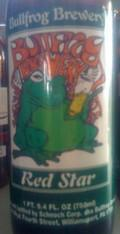 Bullfrog Red Star Belgian Ale