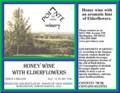 Pointe of View Winery Honey Wine with Elderflowers