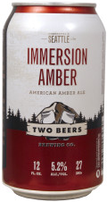 Two Beers Immersion Amber Ale