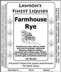 Lawson's Finest Farmhouse Rye