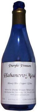 Purple Possum Habanero Mead