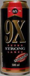 Cains 9X Extra Strong Lager