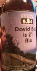 Bell's David Bell is 21 Ale