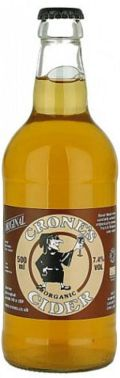 Crone's Original Organic Cider (Bottle)