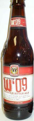 Widmer Brothers W'09 Belgian Style Ale