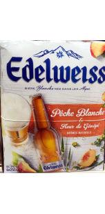 Edelweiss Peche Blanche Fleur De Genepi Ratebeer
