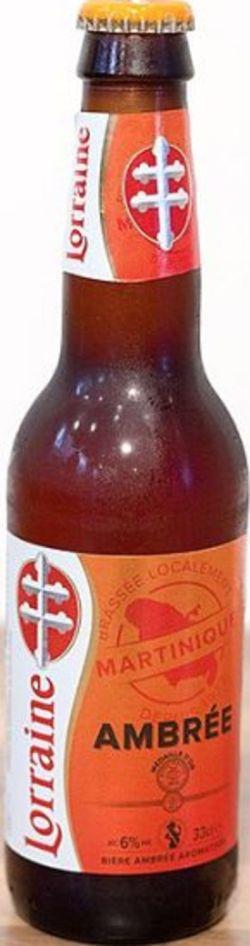 Fabuleux Bière Lorraine Ambrée OC42