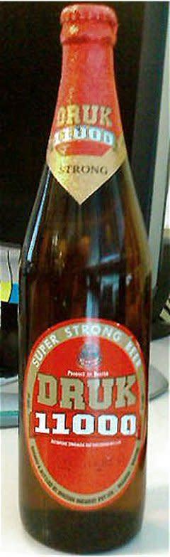 Druk 11000 Strong From Bhutan Brewery Ratebeer