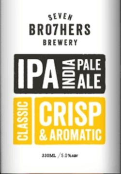 Image result for 7 brothers brewery IPA