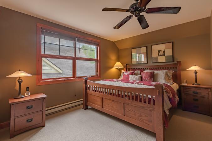 Tremblant Les Eaux 201-5 - Master Bedroom