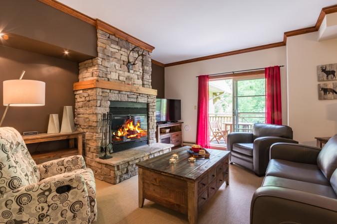 Le Plateau 204-5 - Living Room