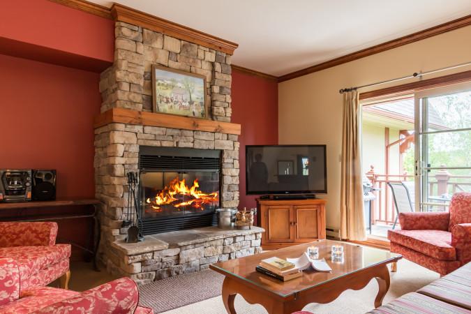 Le Plateau 208-5 - Living Room
