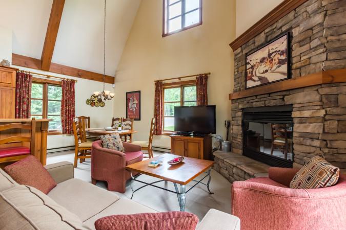 Le Plateau 210-2 - Living Room