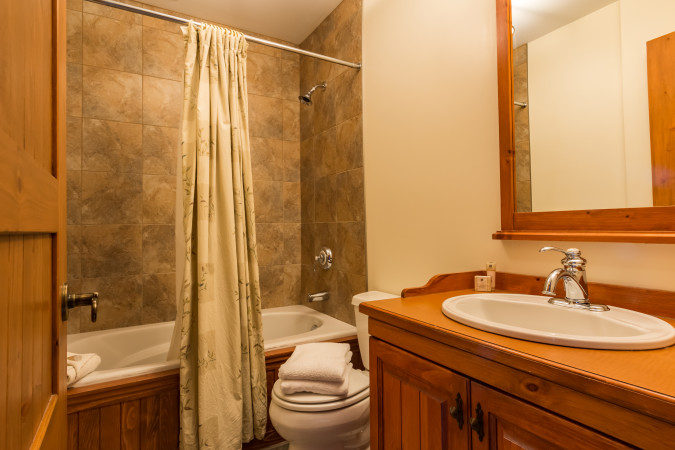 Le Plateau 212-6 - Master Bathroom