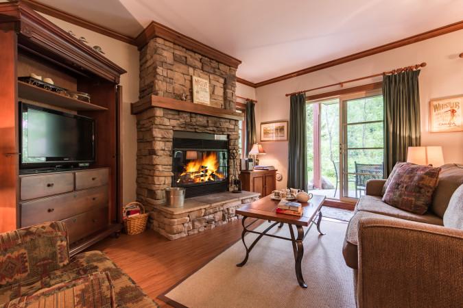 Le Plateau 218-3 - Living Room