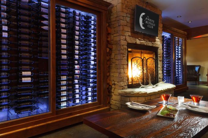 Lounge Area Wine Cellar
