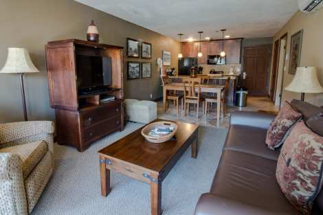 Treasure Mountain Inn - 1 Bedroom Condo #25