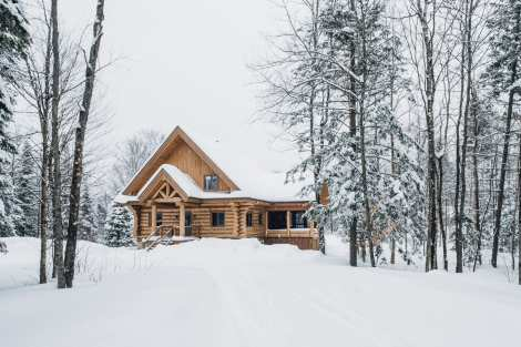Luxury Chalet Rental in Tremblant - L'imprévu