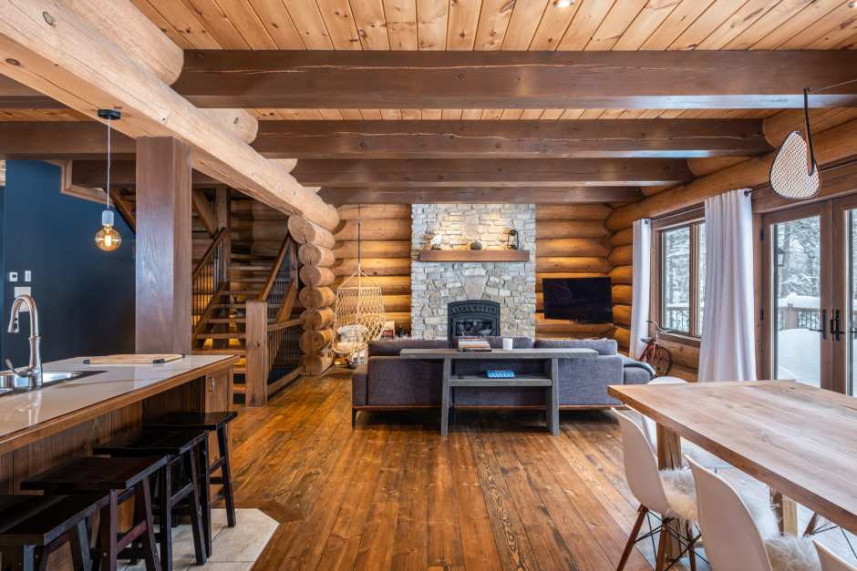 Luxury Chalet Rental in Tremblant - L'imprévu - Photo - 01