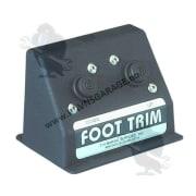 Foot trim switch