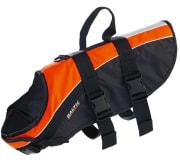 Hundevest, Mascot, oransje/sort, M, 8-15 kg