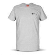 Basic T-skjorte GRÅ - str XL