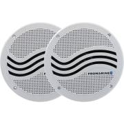 Høyttalere 6,5 Bluetooth m/forsterker hvit