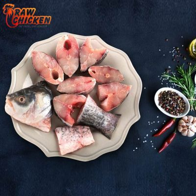 Rohu Fish - Cut ( 1kg ) | Raw Chicken Home Delivery Bhopal