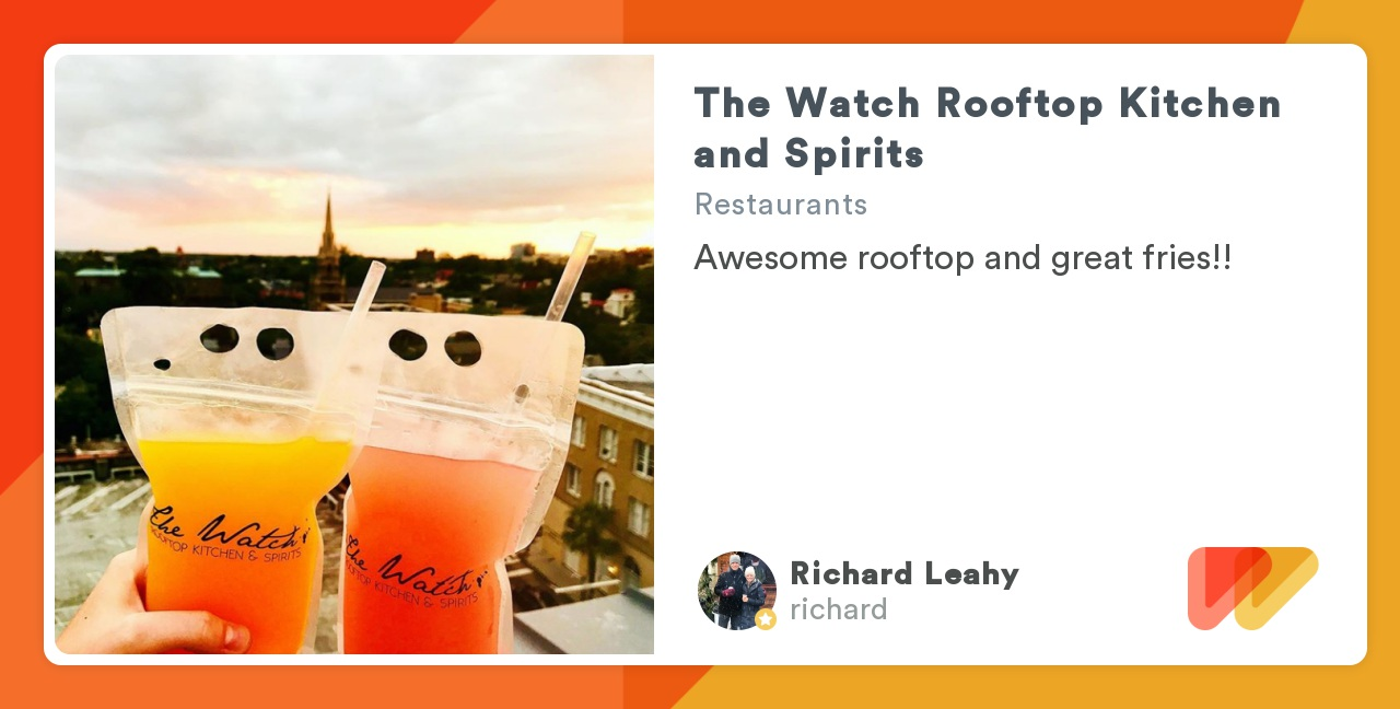 The Watch Rooftop Kitchen And Spirits