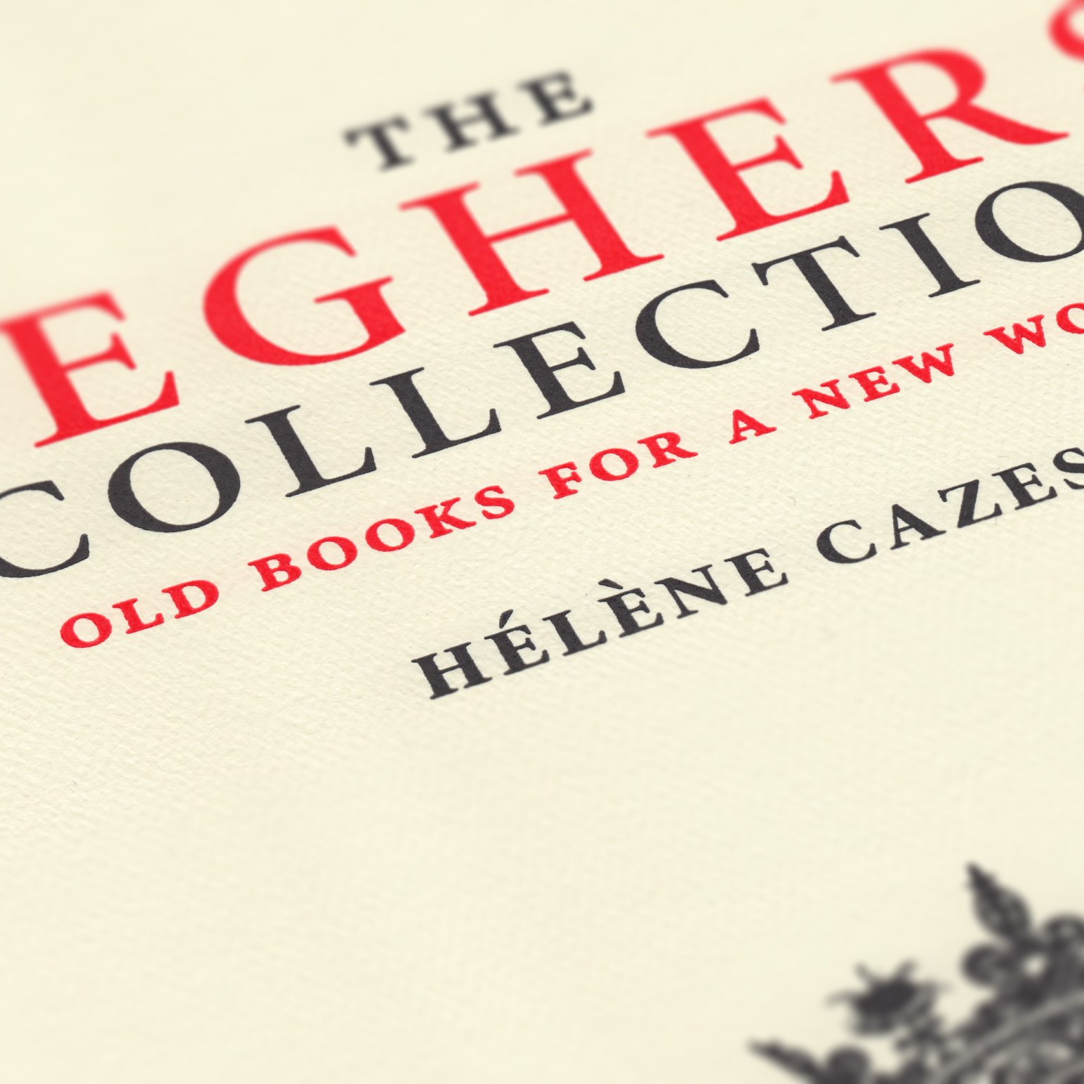 The Seghers Collection, cover detail