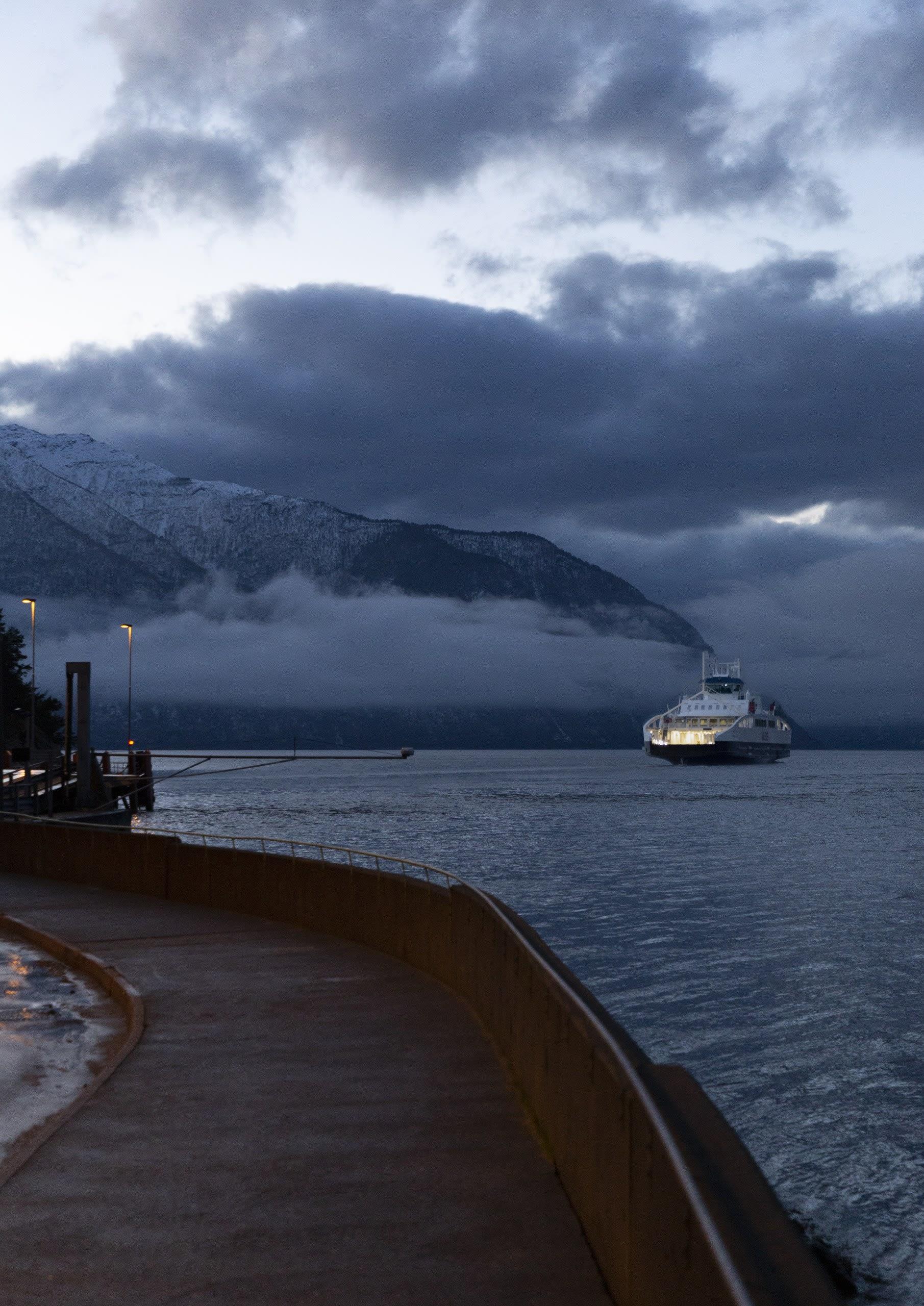 The Festøy Ferry