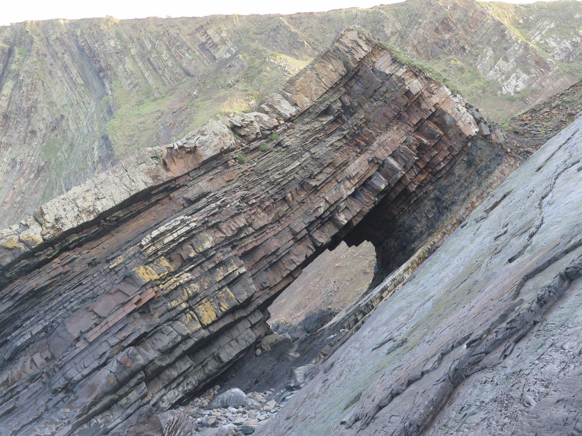 Sandstone Ridges of North Devon