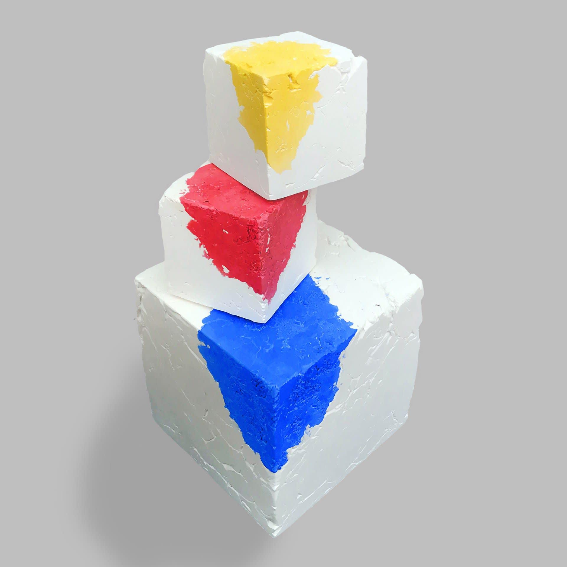 Emergence (Blue I), Emergence (Red I) & Emergence (Yellow I)