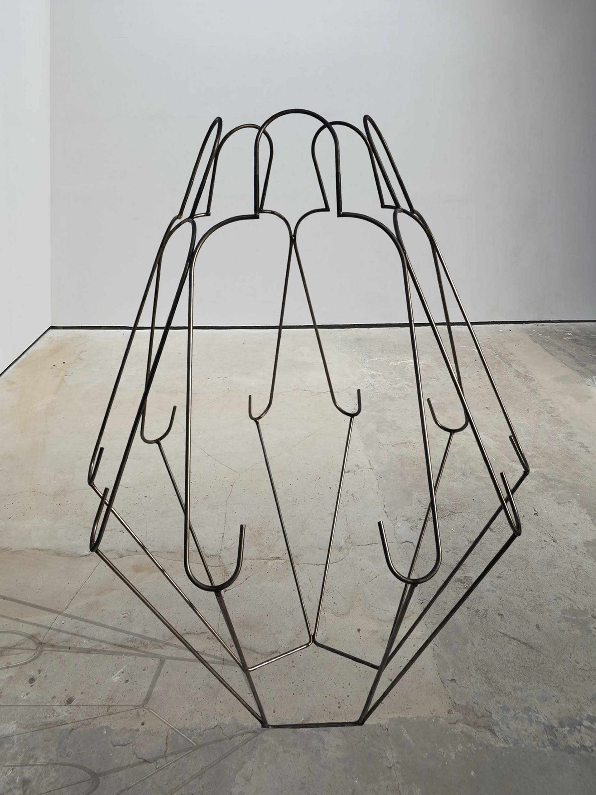 'Connection' — Welded high tensile steel rod — 160 x 100 x 100 cm