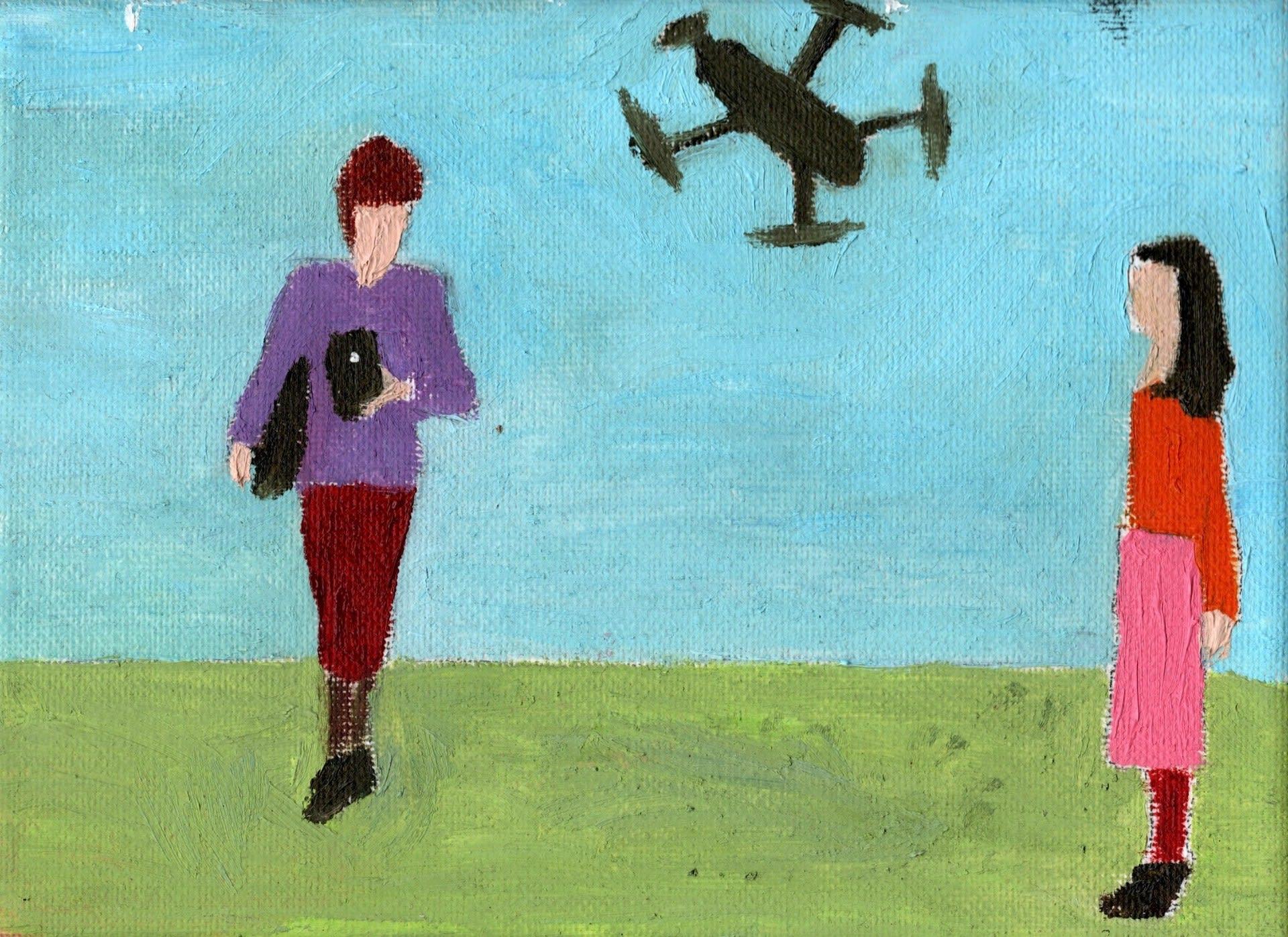 social distancing /drone