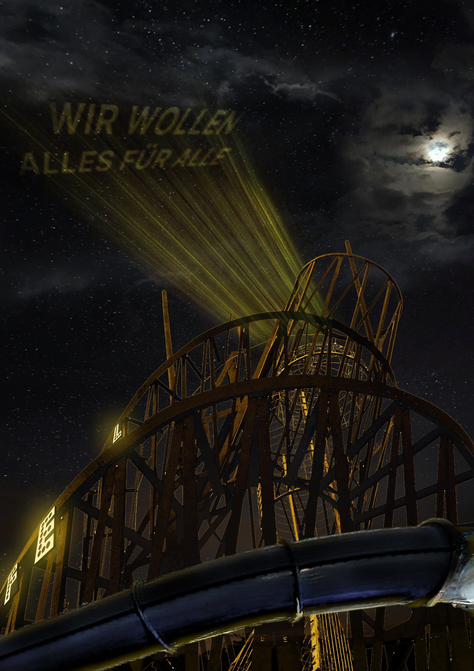 Lacuna Tower - Night Projections (Wir Wollen Alles Für Alle)
