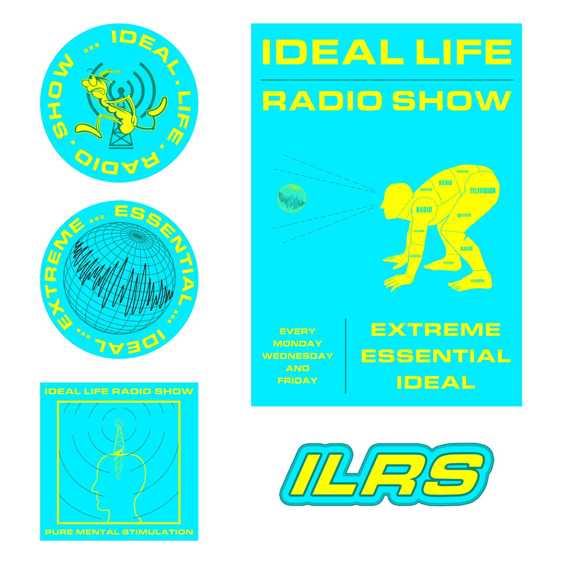 ILRS Posters and Stickers