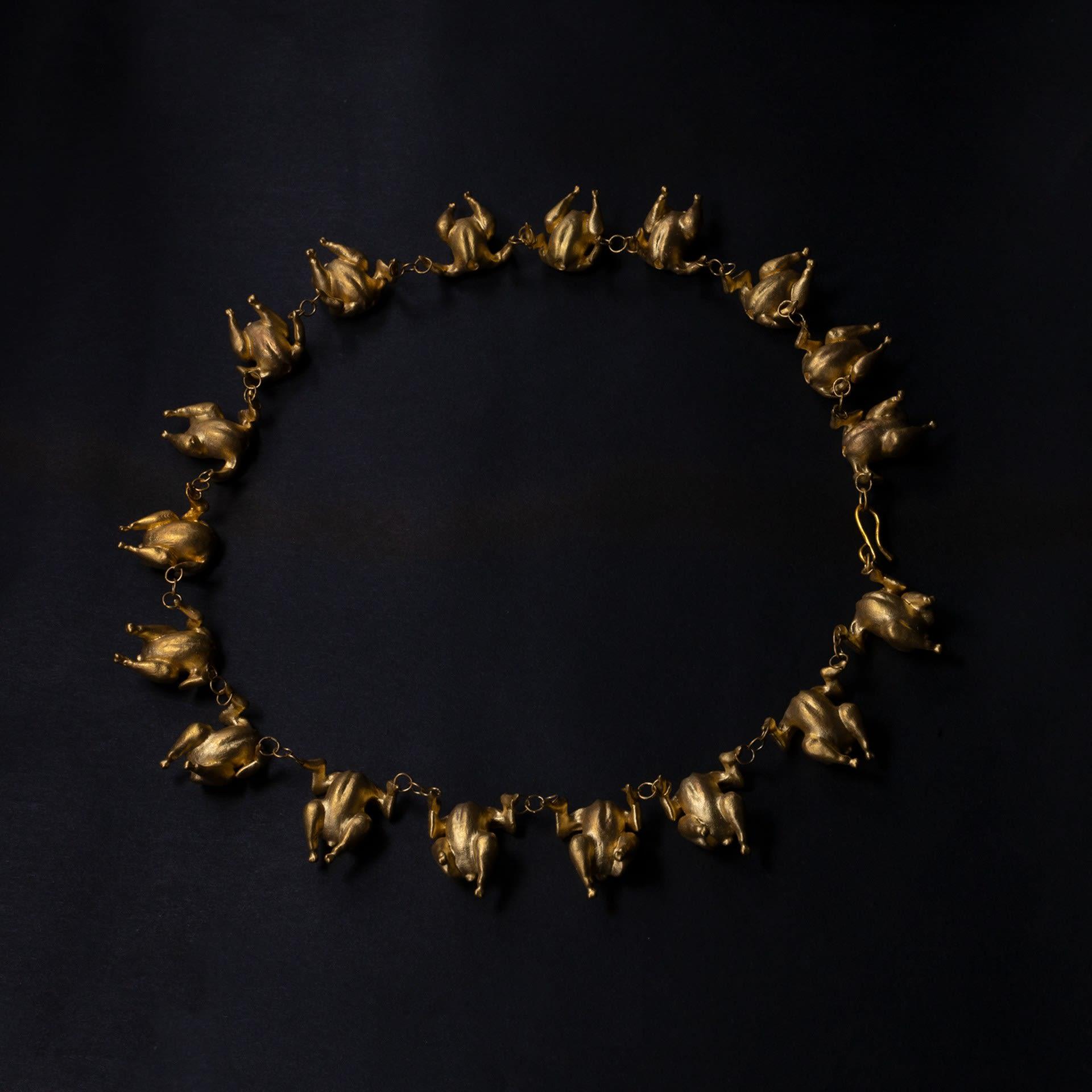 turkey dancer necklace 1