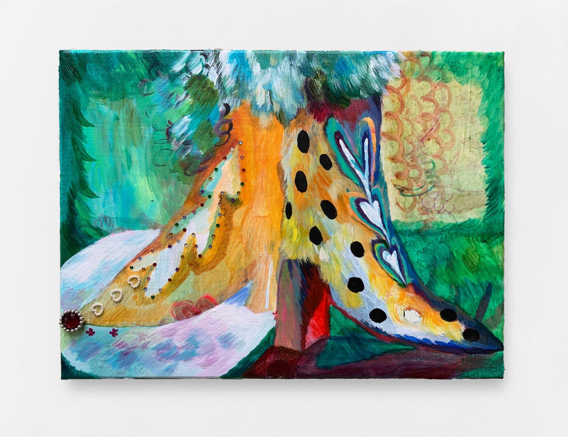 LoveBoy88, 2020, acrylic on canvas, 30 x 40 cm