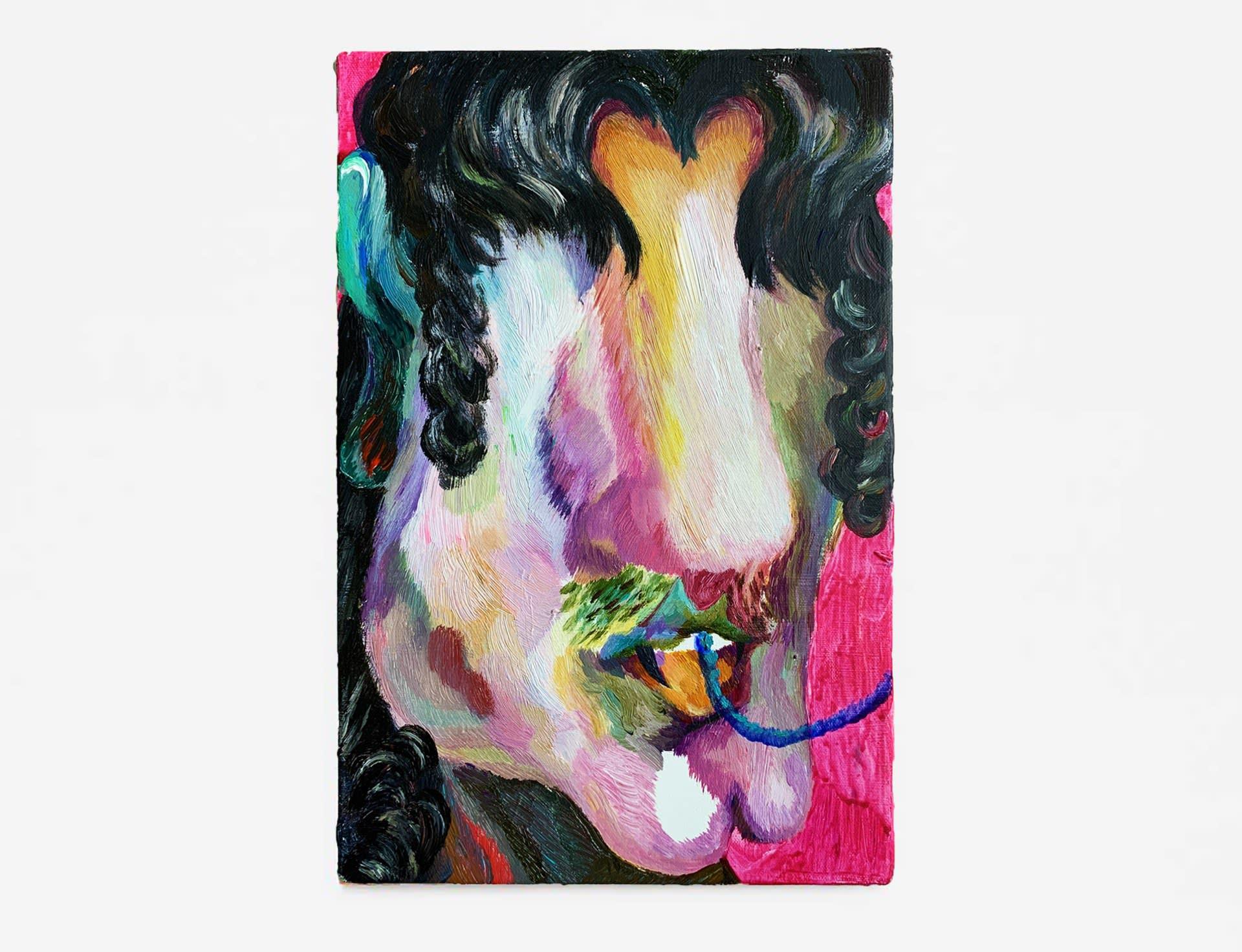 #missuuuuu, 2020, acrylic on canvas, 30 x 20 cm