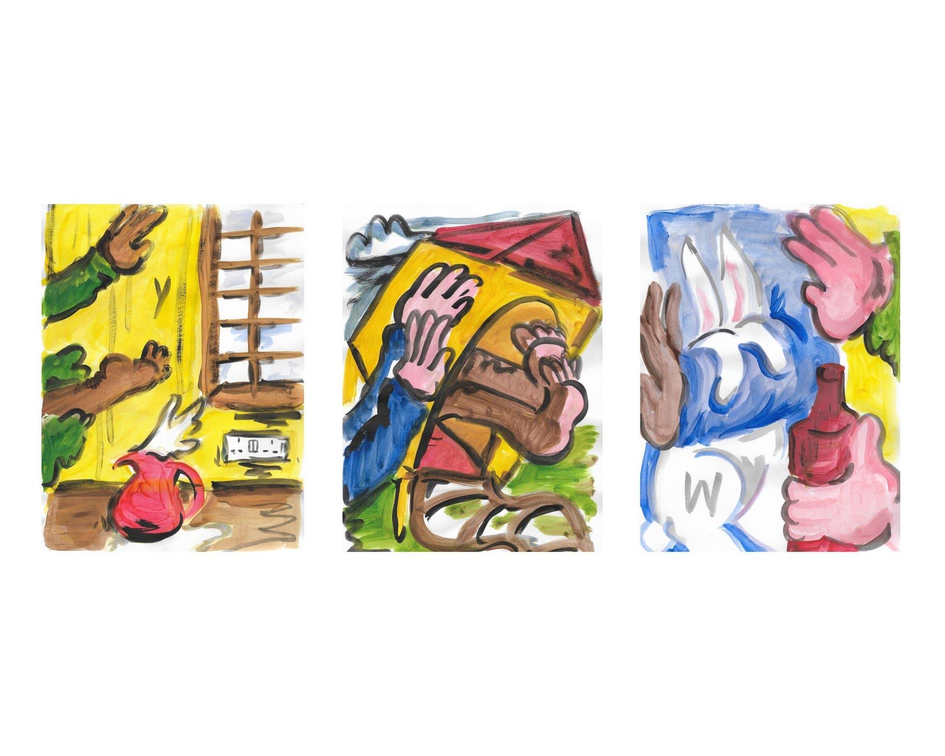 Ban Marie drawings