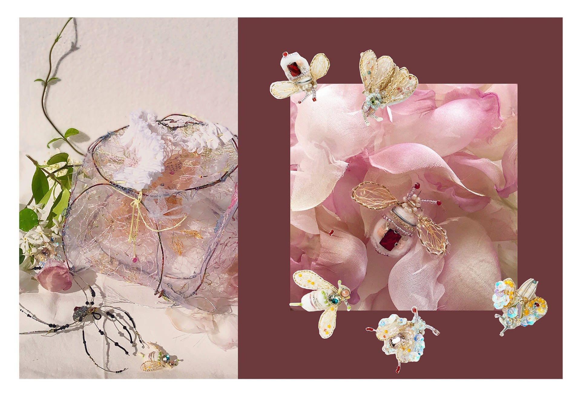 The details of Flower Ball & Honeycomb