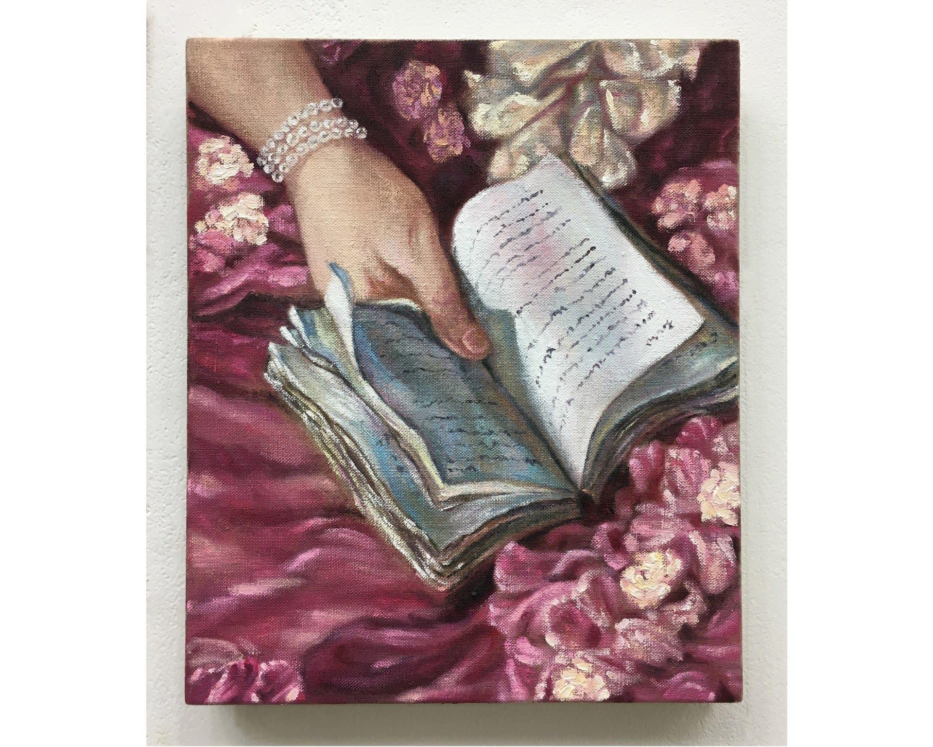 Girl Reading a Book 30012020